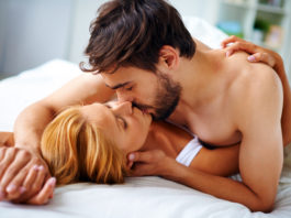 Couple explores the health benefits of sex